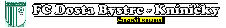 FC Dosta Bystrc - Kníničky | mladší dorost